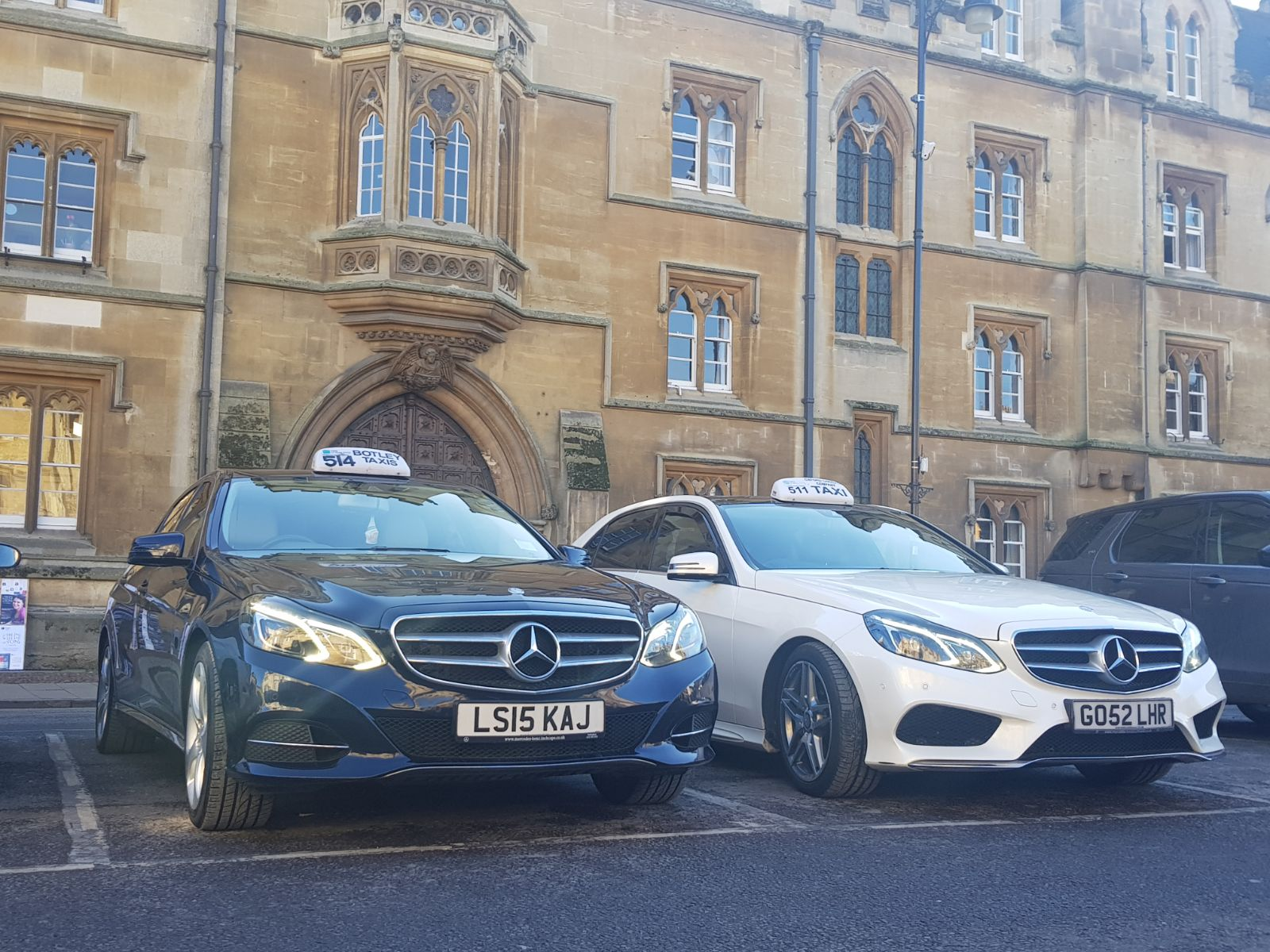 oxford chauffeur driven cars
